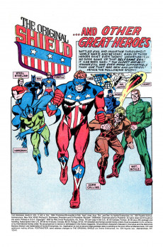 Extrait de Original Shield (The) (Archie comics - 1984) -4- Shields!