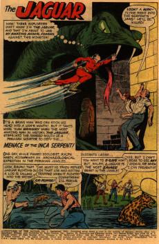 Extrait de Adventures of the Jaguar (Archie comics - 1961) -1- Issue # 1