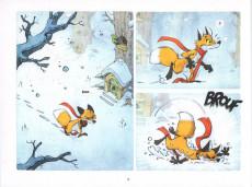 Extrait de Sous les Arbres -2- Le frisson de l'hiver