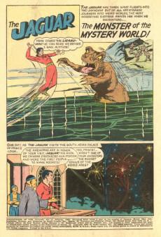 Extrait de Adventures of the Jaguar (Archie comics - 1961) -4- The Return of the Cat-Girl!