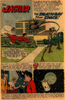 Extrait de Adventures of the Jaguar (Archie comics - 1961) -5- Issue # 5