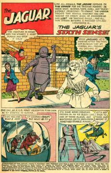 Extrait de Adventures of the Jaguar (Archie comics - 1961) -8- The Jaguar's Sixth Sense!