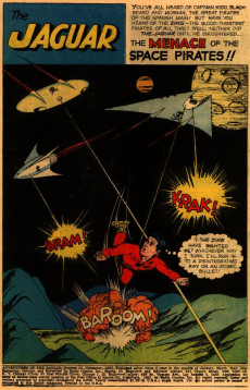 Extrait de Adventures of the Jaguar (Archie comics - 1961) -10- The Prehistoric Menace