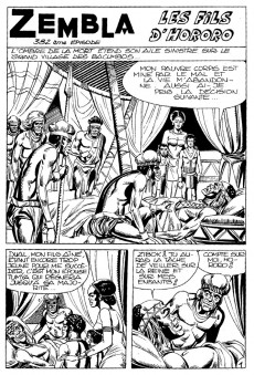 Extrait de Zembla (Hexagon Comics) -5- Tome 5
