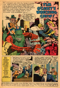 Extrait de Adventures of the Fly (Archie comics - 1960) -2- Tim O'Casey's Wrecking Crew