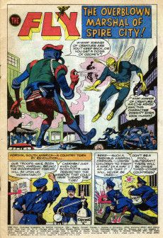 Extrait de Adventures of the Fly (Archie comics - 1960) -3- Issue # 3