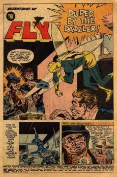 Extrait de Adventures of the Fly (Archie comics - 1960) -4- Issue # 4
