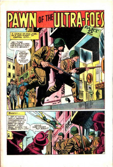 Extrait de Fly Man (Archie comics - 1965) -37- Pawn of the Ultra-Foes