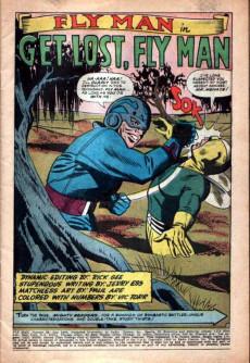 Extrait de Fly Man (Archie comics - 1965) -38- Issue # 38