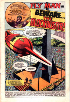 Extrait de Fly Man (Archie comics - 1965) -39- Beware....The Blockbuster