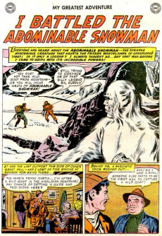 Extrait de My greatest adventure Vol.1 (DC comics - 1955) -10- I Became a Merman!