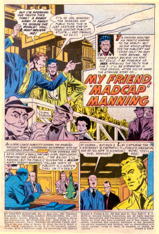 Extrait de My greatest adventure Vol.1 (DC comics - 1955) -11- I Journeyed into Inner Space!