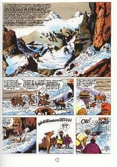 Extrait de Marc Dacier (couleurs) -6a- L'abominable Homme des Andes