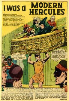 Extrait de My greatest adventure Vol.1 (DC comics - 1955) -31- We Found the Evolution Man!