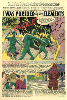 Extrait de My greatest adventure Vol.1 (DC comics - 1955) -33- I Was Trapped in a Cosmic World!