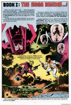 Extrait de Marvel Saga the Official History of the Marvel Universe (The) (Marvel comics - 1985) -1- Issue # 1