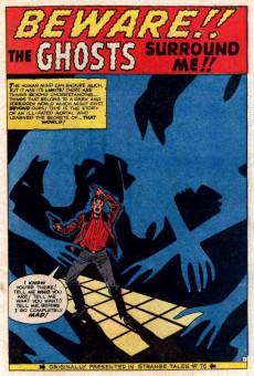 Extrait de Fantasy Masterpieces Vol.1 (Marvel comics - 1966) -1- Issue # 1