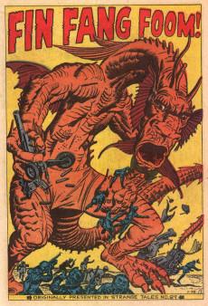 Extrait de Fantasy Masterpieces Vol.1 (Marvel comics - 1966) -2- Issue # 2