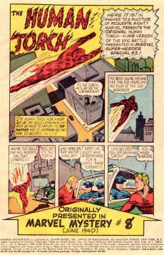 Extrait de Fantasy Masterpieces Vol.1 (Marvel comics - 1966) -7- Issue # 7