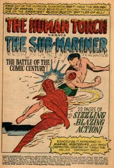 Extrait de Fantasy Masterpieces Vol.1 (Marvel comics - 1966) -8- Issue # 8