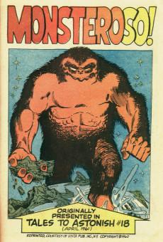 Extrait de Fantasy Masterpieces Vol.1 (Marvel comics - 1966) -9- The Origin of the Human Torch!