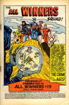 Extrait de Fantasy Masterpieces Vol.1 (Marvel comics - 1966) -10- Issue # 10