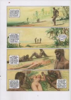 Extrait de Les grands Classiques de la Bande Dessinée érotique - La Collection -112117- Nagarya - tome1