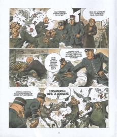 Extrait de La bête (Frank Pé/Zidrou d'après le Marsupilami créé par André Franquin) -08- Episode VIII