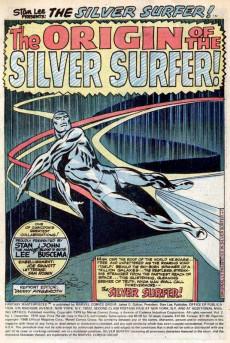 Extrait de Fantasy Masterpieces Vol.2 (Marvel comics - 1979) -1- The Origin of the Silver Surfer!