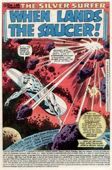 Extrait de Fantasy Masterpieces Vol.2 (Marvel comics - 1979) -2- When Lands the Saucer!