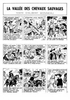 Extrait de French-Bill (Cavalier du far-west) -5- La vallée des chevaux sauvages