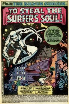 Extrait de Fantasy Masterpieces Vol.2 (Marvel comics - 1979) -9- To Steal the Surfer's Soul!