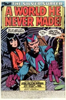 Extrait de Fantasy Masterpieces Vol.2 (Marvel comics - 1979) -10- A World He Never Made!