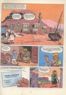 Extrait de Martin Milan (1re série) -4- L'émir aux 7 bédouins