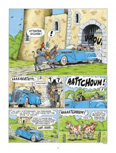 Extrait de Sylvain et Sylvette -65- Il faut sauver Castel-bobeche