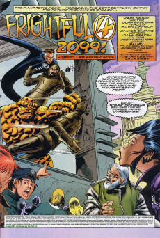 Extrait de Fantastic Four 2099 (Marvel comics - 1996) -2- Issue # 2
