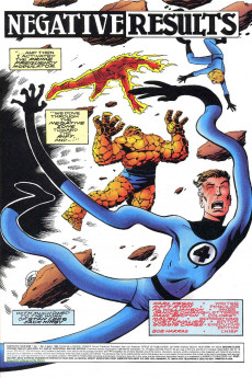 Extrait de Fantastic Four 2099 (Marvel comics - 1996) -4- Fantastic Four 2099 and Spider-Man 2099 Too!