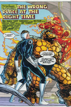Extrait de Fantastic Four 2099 (Marvel comics - 1996) -6- He Comes Speaking Death!