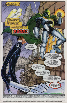 Extrait de Fantastic Four 2099 (Marvel comics - 1996) -7- Death In Atlantis