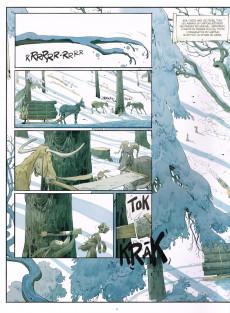 Extrait de Le château des Animaux -2- Les Marguerites de l'hiver