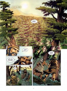 Extrait de Gilgamesh (Bruneau/Taranzano) -2- La fureur d'Ishtar