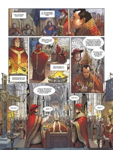 Extrait de Un pape dans l'histoire -5- Clément V - Le Sacrifice des templiers