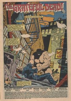 Extrait de Alpha Flight (Marvel comics - 1983) -31- The Grateful Dead!