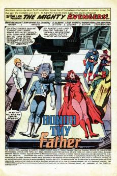 Extrait de Avengers (The) Vol. 1 (Marvel comics - 1963) -182- Honor thy Father