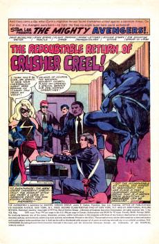Extrait de Avengers Vol. 1 (Marvel Comics - 1963) -183- The Redoubtable Return of Crusher Creel! 1/2