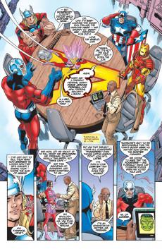 Extrait de Avengers Vol.3 (Marvel comics - 1998) -4- Too many Avengers