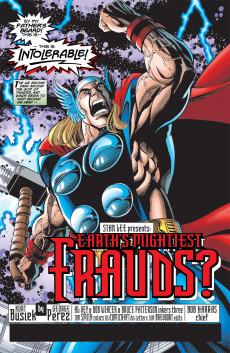 Extrait de Avengers Vol.3 (Marvel comics - 1998) -6- Earth's Mightest Frauds ?