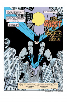 Extrait de Batman Vol.1 (DC Comics - 1940) -413- The Ghost of Masahiko Tahara