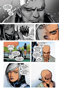 Extrait de Uncanny X-Men (2013) -30- In the fallout from AXIS