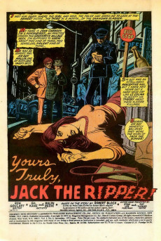 Extrait de Journey into Mystery Vol. 2 (Marvel - 1972) -2- Yours Truly... Jack the Ripper!